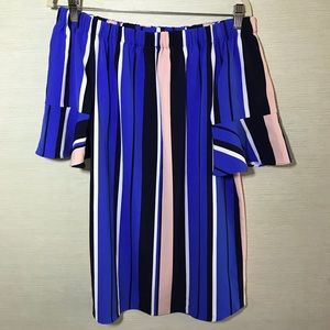 Romeo and Juliet Couture Striped Dress Sz M